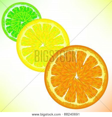 Lime Lemon Orange