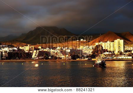 Atlantic resort in Tenerife, Spain, Europe