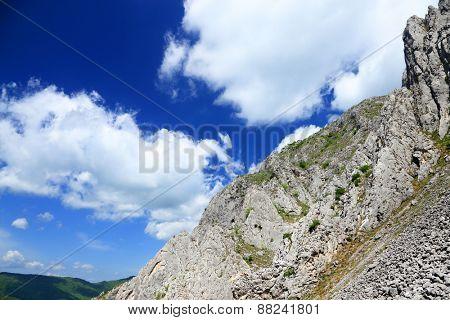 Spring landscape in Piatra Secuiului Mountain (1129m), Transylvania, Romania, Europe