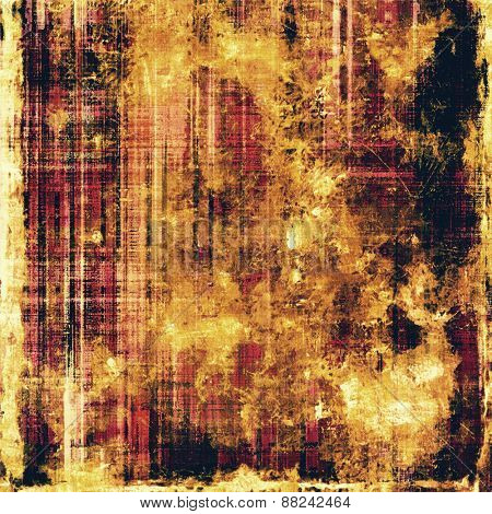 Grunge old texture as abstract background. With different color patterns: yellow (beige); brown; black; purple (violet)