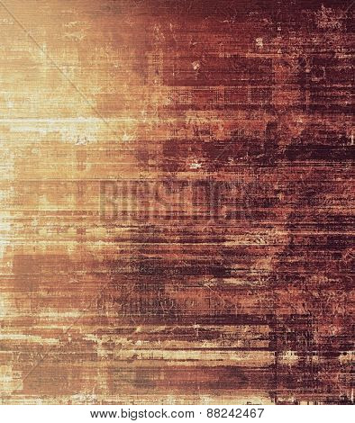 Old abstract texture with grunge stains. With different color patterns: yellow (beige); brown; gray; purple (violet)