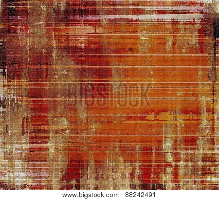 Grunge background with space for text or image. With different color patterns: yellow (beige); brown; red (orange)