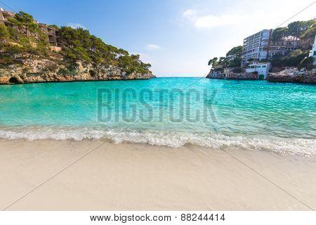 Majorca Cala Santanyi in Mallorca Balearic islands of spain