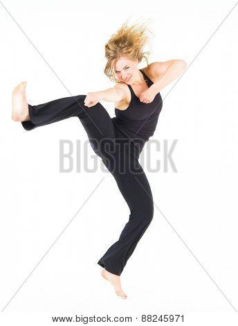 Sporty Elegance Ballet Model