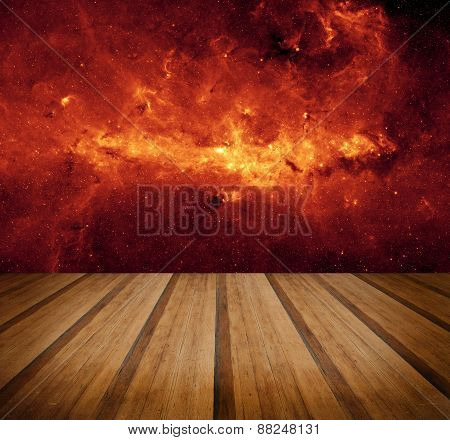 Space Galaxy Nature Background. Elements Of This Image Furnished By Nasa