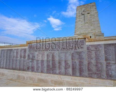 Lone Pine Anzac Memorial, Gallipoli