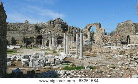 Side Turkey Archeology