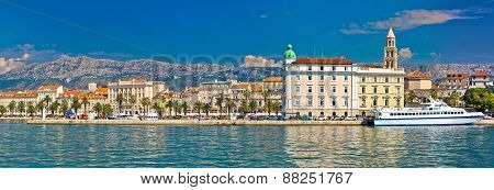 Split Waterfront Riva Panoramic View