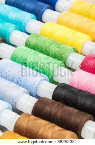 Multicolor Sewing Threads