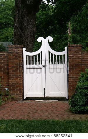 Attractive Wooden Gate