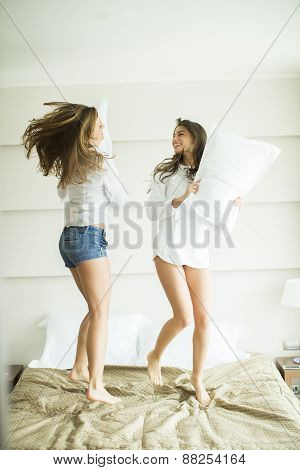 Pillow Fighting