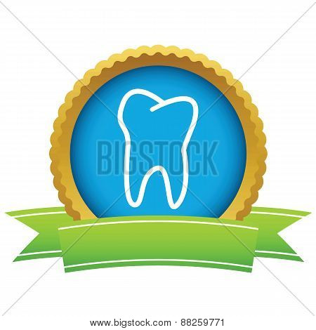 Gold tooth logo