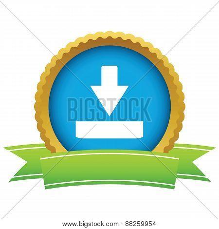 Gold download logo