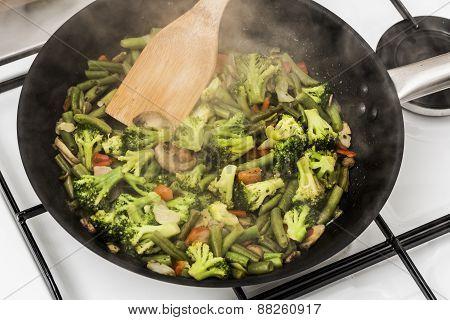 Vegetables saute