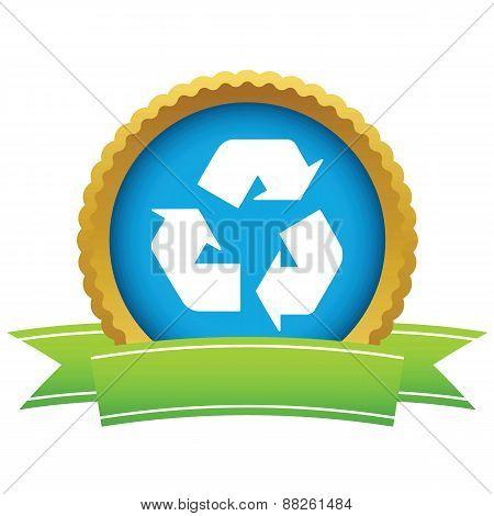 Gold recycling logo