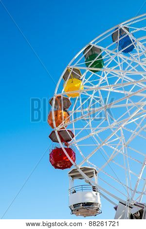 Ferris wheel on a fair