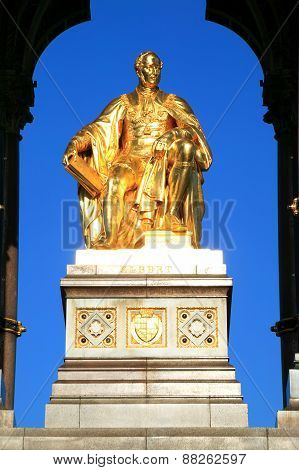 Prince Albert from the Albert Memorial