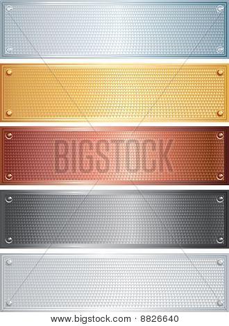 Metal Banners
