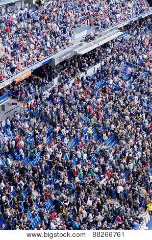 Spectators Standing