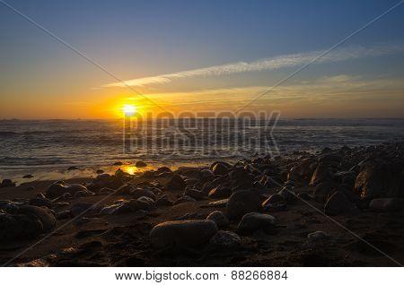 The Coast Of Lanzarote