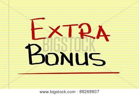 Extra Bonus Concept