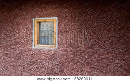 Single Window In A Wall