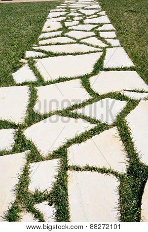 walkway stones