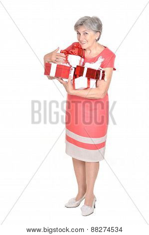 woman with a gifts