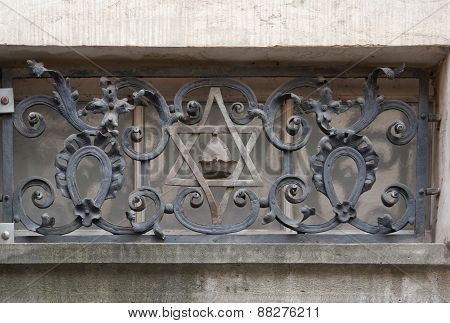 Architectural Detail In Prague
