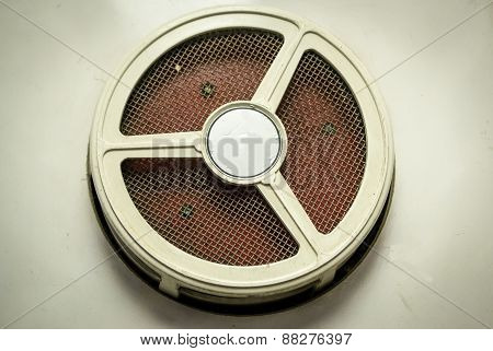 Train Carriage Speaker Grill
