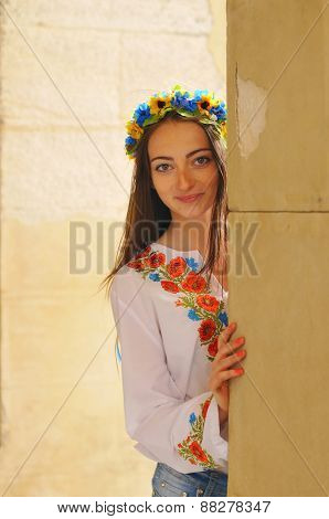 Pretty Ukrainian Girl Portrait