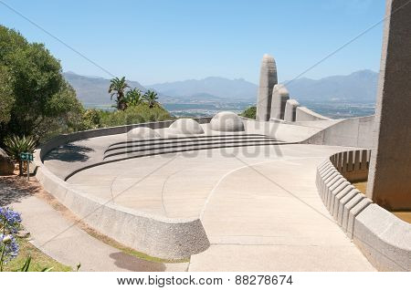 Afrikaans Language Monument In Paarl.