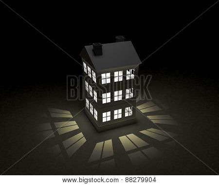Night Paper House