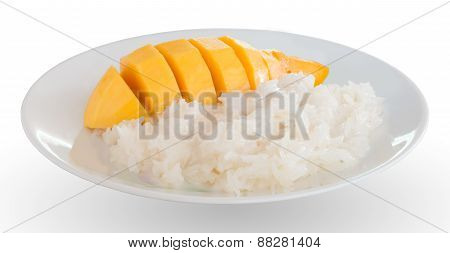 Glutinous Rice And Mango