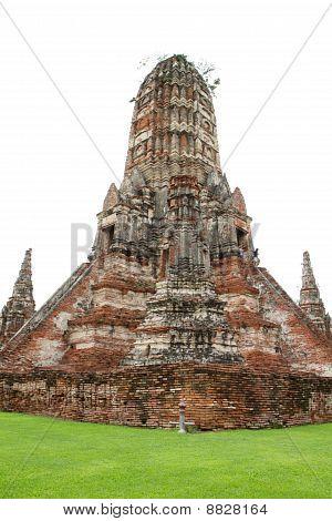 Wat Chaiwattanaram in ayuhtaya,central of Thailand.