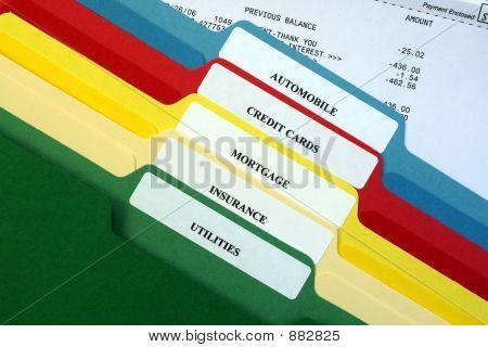Carpetas de cuentas personales