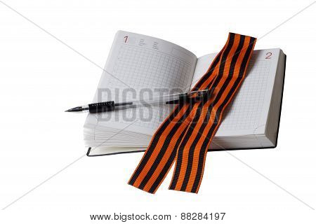 St. George Ribbon And Diary