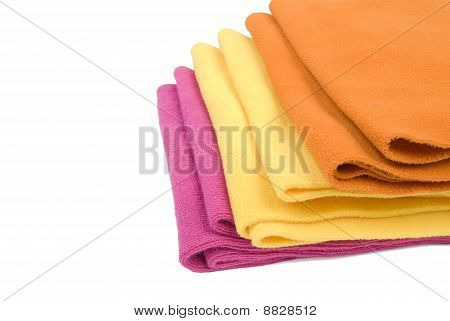 Pile Of Scarfs | Isolated
