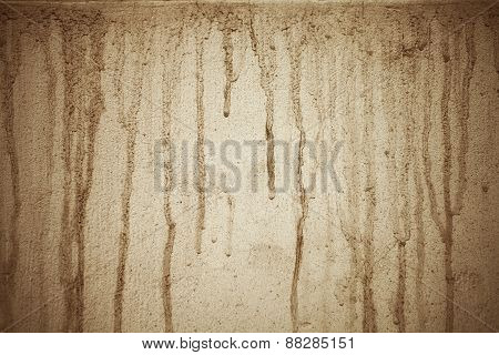 Texture Of Dirty Painted Cement Wall