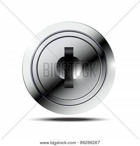 Metallic Keyhole