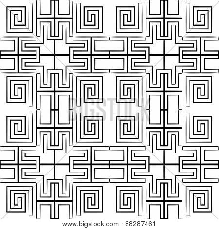 Vector seamless pattern. Repeating geometric pattern.