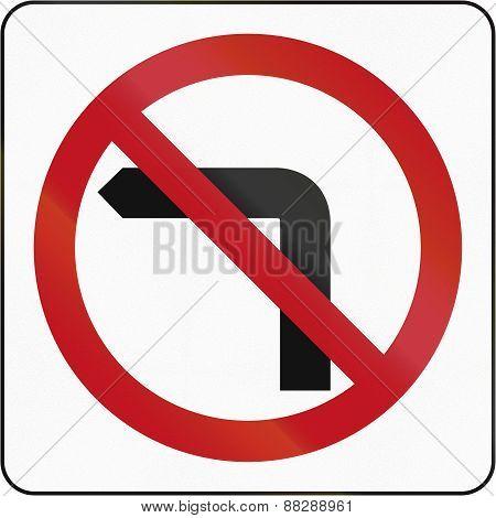 No Left Turn In Brunei