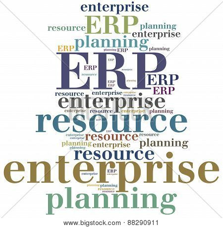 Erp. Enterprise Resource Planning.