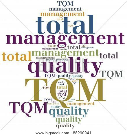 Tqm. Total Quality Management.