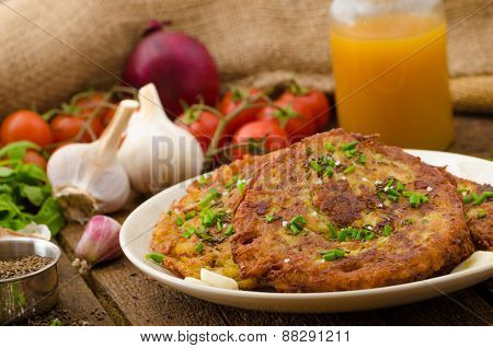 Fried Potato Pancakes