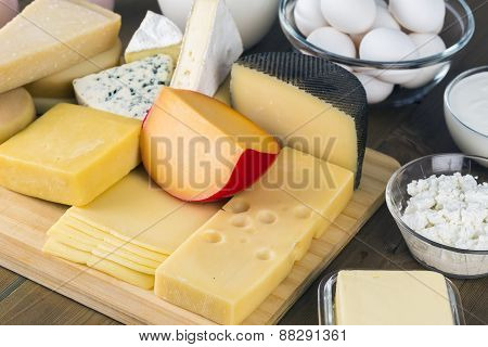 Assorted dairies