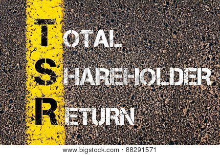 Business Acronym Tsr As Total Shareholder Return