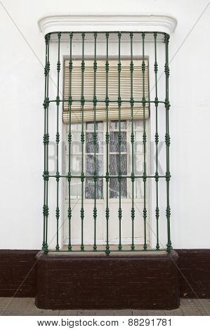 Andalusian Wrought Iron Window