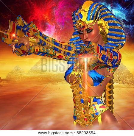 Egyptian Magic! This Powerful female anointed herself Pharaoh of Egypt.
