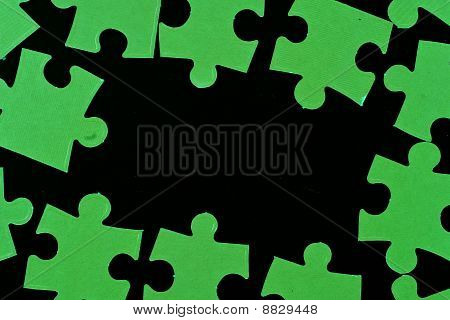 Glow In The Dark Puzzle Pieces